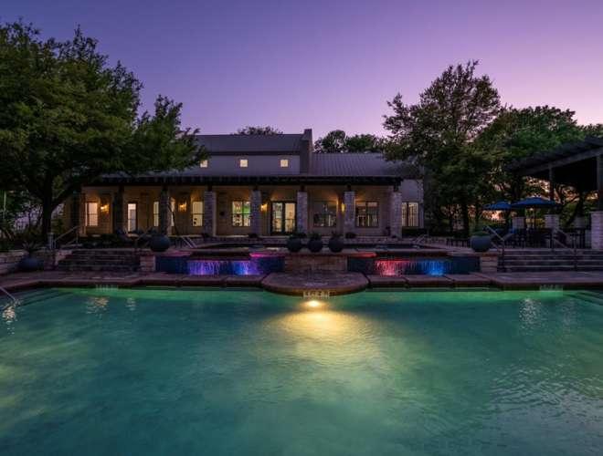 Pool at Twilight (Large)